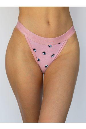 Boux Avenue Women Thongs - Eyes high leg cotton boxer thong