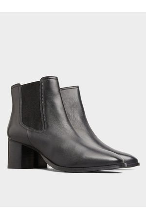 Yours Leather Chelsea Ankle Boots