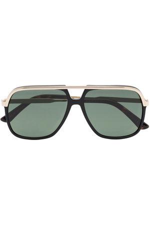 Gucci Men Sunglasses - GUCCI RECT METAL SUNGLASSES