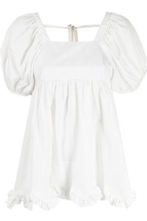 Cecilie Bahnsen Women Blouses - Vega puff-sleeve blouse