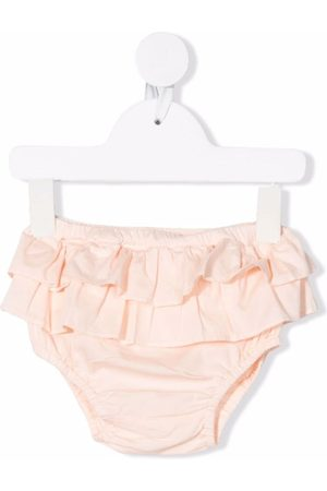 Babe And Tess Ruffled cotton bloomers