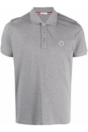 Moncler Men Polo Shirts - Logo patch polo shirt
