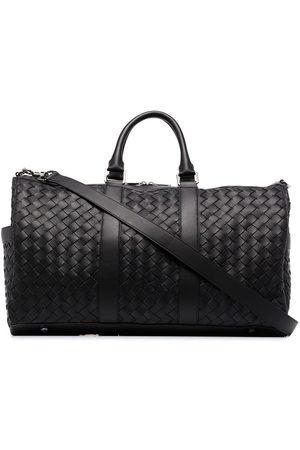 Bottega Veneta Men Suitcases - Intrecciato leather holdall