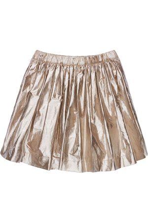 BONPOINT Women Pleated Skirts - Pleated Cotton Blend Skirt