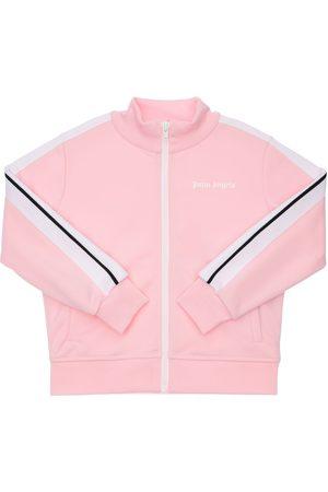 Palm Angels Girls Sweatshirts - Zip-up Techno Sweatshirt