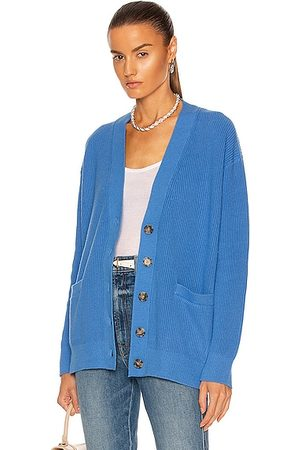 RE/DONE Women Cardigans - 90's Oversized Cardigan in French