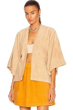 TERRY Women Kimonos - Il Pareo Kimono in Almond