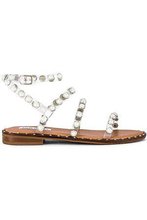 Steve Madden Travel-P Sandal in . Size 6, 6.5, 7, 7.5, 8, 8.5, 9, 9.5.