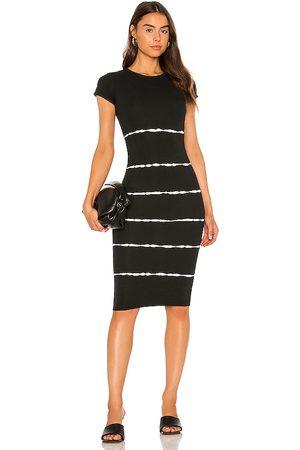 AllSaints Niko Tie Dye Stripe Dress in . Size 0, 2, 4, 6, 8, 10.