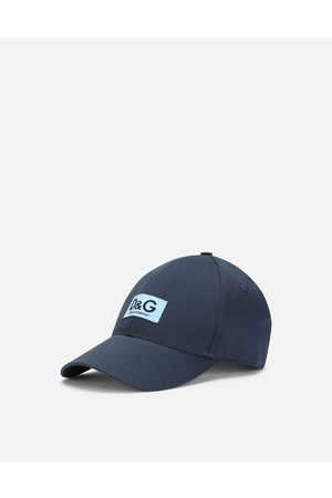 Dolce & Gabbana Hats and Gloves - Baseball cap with D & G patch male 58