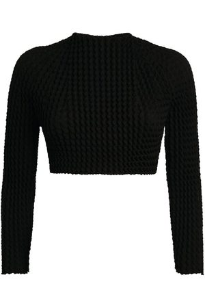Issey Miyake Pleated Spongy Top