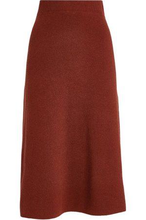 YVES SALOMON Wool-Cashmere Midi Skirt