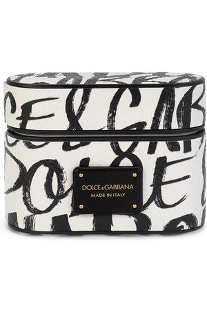Dolce & Gabbana Monogram-print airpods case