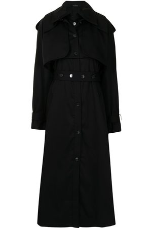 Rokh Convertible trench coat
