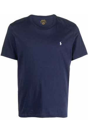 Polo Ralph Lauren Men Short Sleeve - Polo Pony-embroidered cotton T-shirt
