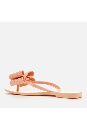 Melissa Women Flip Flops - Women's Harmonic Dot Bow Flip Flops