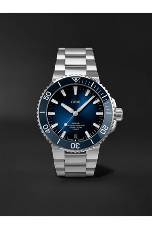 Oris Men Watches - Aquis Date Calibre 400 Automatic 43.5mm Stainless Steel Watch, Ref. No. 01 400 7763 4135-07 8 24 09PEB