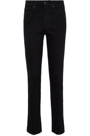 3x1 Kaya skinny split-cuff jeans