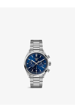 Tag Heuer Men Watches - CBN2011.BA0642 Carrera stainless-steel automatic watch