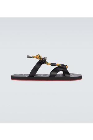 Christian Louboutin Men Sandals - Saragosse flat sandals