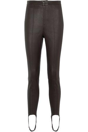 Zeynep Arcay Leather leggings