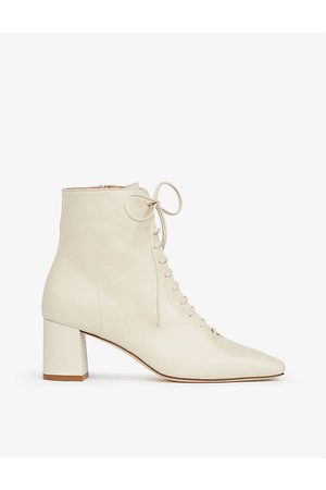 LK Bennett Women Ankle Boots - Arabella leather heeled ankle boots
