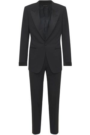 Tom Ford Plain Weave Wool Evening Suit