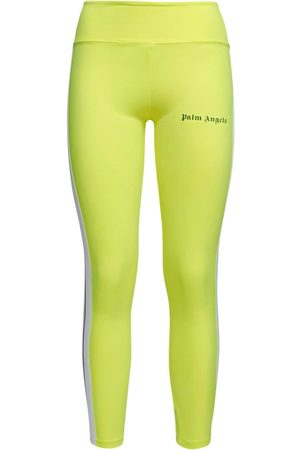 Palm Angels Side Band Jersey Track Leggings