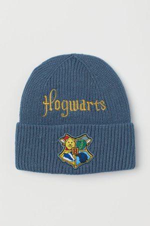 H&M Appliquéd knitted hat