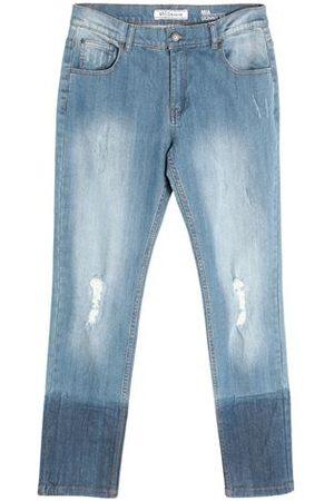 YOOX Women Trousers - BOTTOMWEAR - Denim trousers