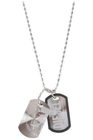 DIESEL Men Necklaces - JEWELLERY and WATCHES - Necklaces