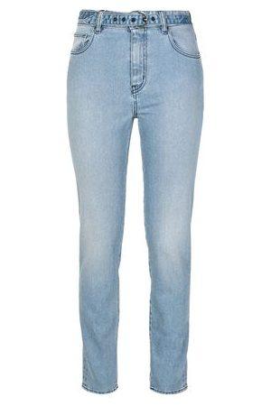 Roberto Cavalli Women Trousers - BOTTOMWEAR - Denim trousers