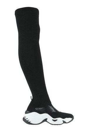 EMPORIO ARMANI Women High Leg Boots - FOOTWEAR - Knee boots