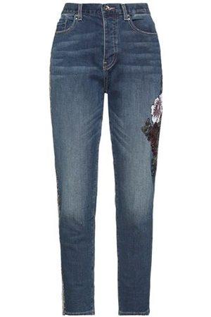 Fracomina BOTTOMWEAR - Denim trousers