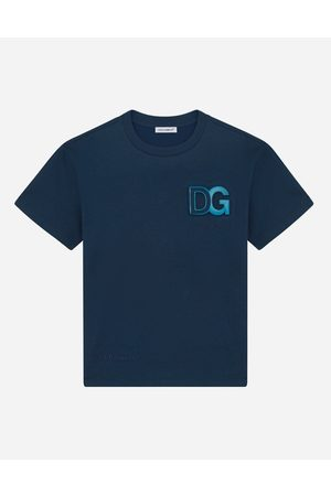 Dolce & Gabbana T-Shirts and Sweatshirts - Jersey T-shirt with embossed DG logo male 2