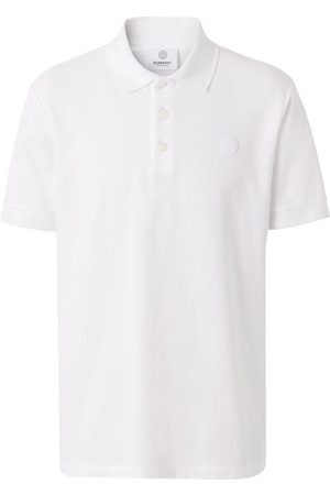 Burberry Men Polo Shirts - Monogram Appliqué Polo Shirt