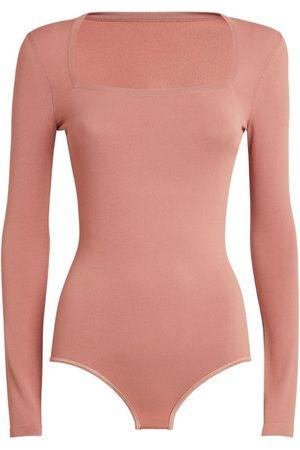 Alaïa Women Bodies - Square-Neck Bodysuit