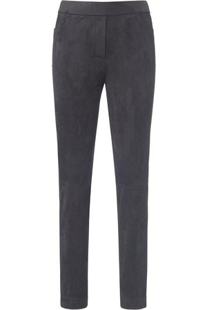 Basler Women Leather Trousers - Jeggings in faux suede size: 10