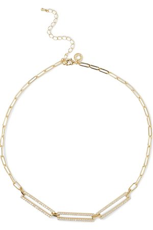 Kenneth Jay Lane Woman -tone Crystal Necklace Size