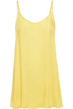 American Vintage Woman Nonogarden Washed-twill Camisole Bright Size S