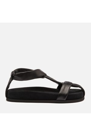 Neous Women Flat Shoes - Women's Proxima Leather Flat Sandals