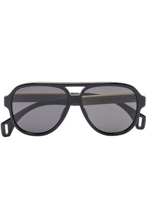 Gucci Men Sunglasses - Aviator-frame sunglasses