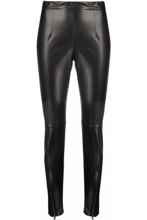Patrizia Pepe Leather-effect leggings