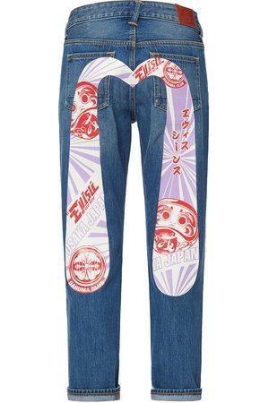 Evisu Daruma and Kamon Daicock Boyfriend Jeans