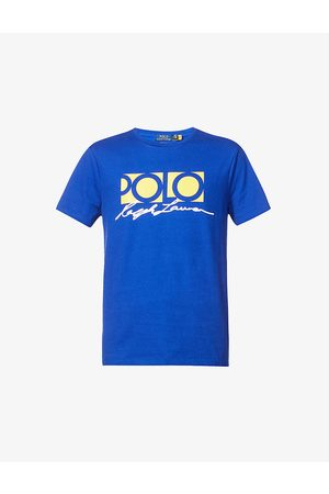 Polo Ralph Lauren Typography graphic cotton-jersey T-shirt