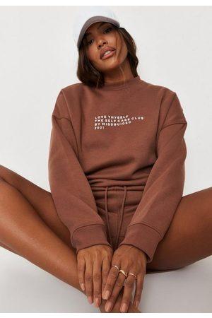 Missguided Princes Trust X Chocolate Love Thyself Oversized Sweatshirt