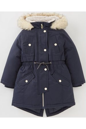 Very Girls Faux Fur Hooded Half Fur Lined Back To School Parka