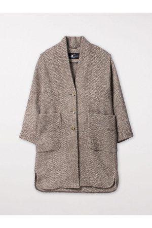 Luisa Cerano Herringbone Coat