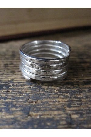 Collard Manson CollardManson 925 spiral ring