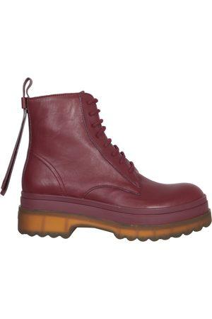 RED(V) LYERED AMPHIBIAN BOOTS